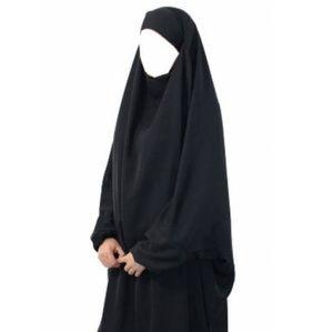 (NWOT)Two piece jilbab. French jilbab set.